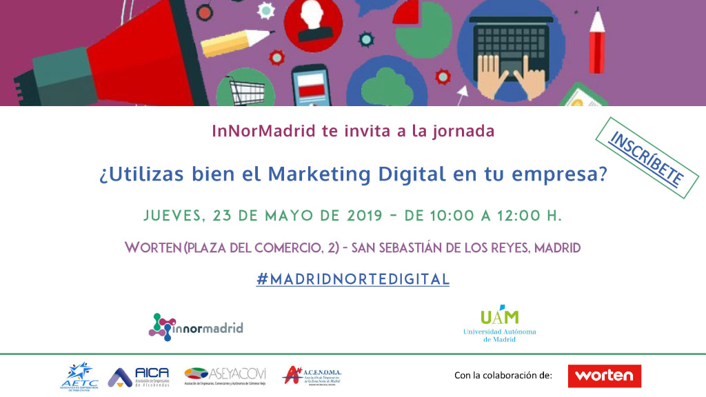 SAVE THE DATE - MADRIDNORTEDIGITAL MARKETING