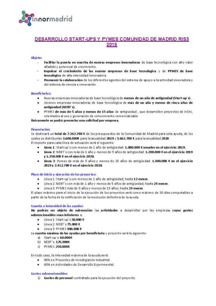 2019-07 INNORMADRID RIS 3 LINEAS STARTUPS Y PYMES_Página_1