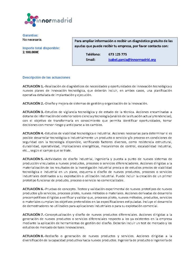2019-12 FICHA INNORMADRID CHEQUE INNOVACIÓN 2019 - COM MADRID_Página_2