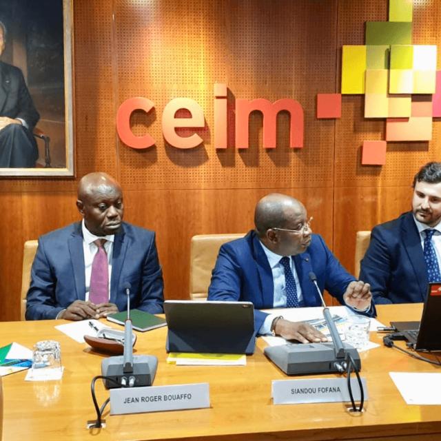 Presentación del plan de desarrollo de turismo estratégico de Costa de Marfil y firma de una carta de intención sobre el desarrollo de proyectos hoteleros