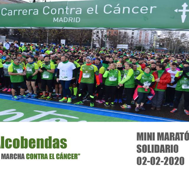 Patrocina el I Mini maratón contra el cáncer en Alcobendas