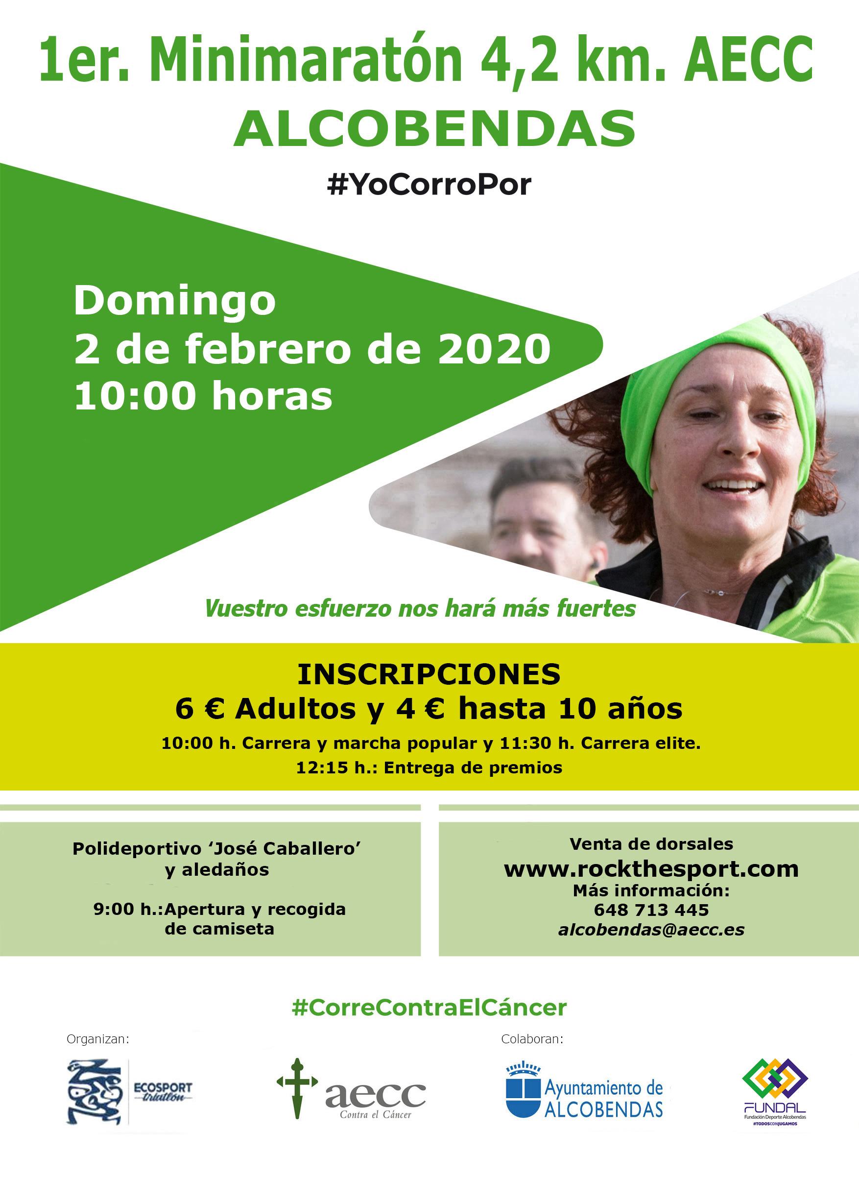 Minimaraton Alcobendas 02 FEB 2020 Cartel 4