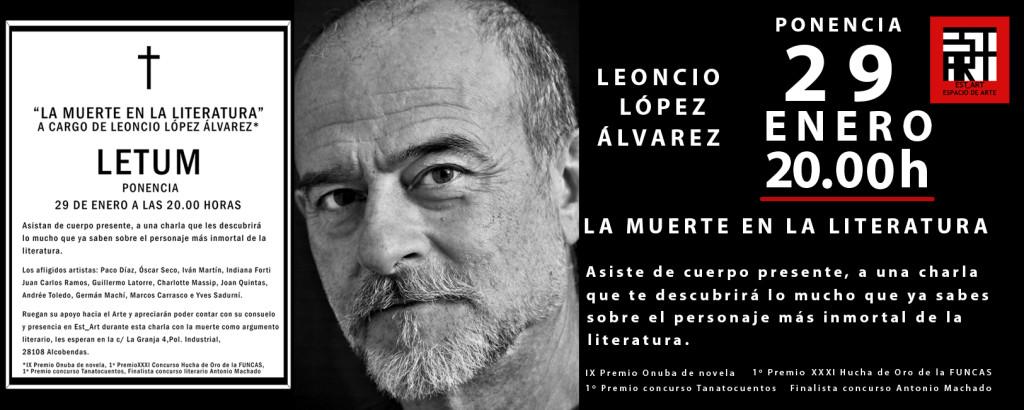 Est_Art-ponencia- La muerte en la literatura - Leoncio Lopez-FB