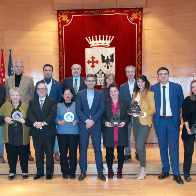Entregados los premios a los ganadores del XXXII Concurso de Escaparates de Navidad de Alcobendas
