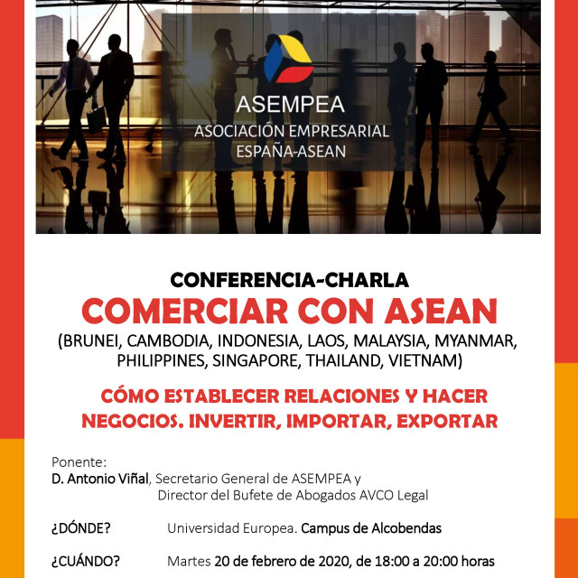 Conferencia – Comerciar con Asean | Universidad Europea de Madrid