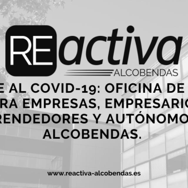 Coronavirus COVID-19 | Puesta en marcha de ReActiva Alcobendas
