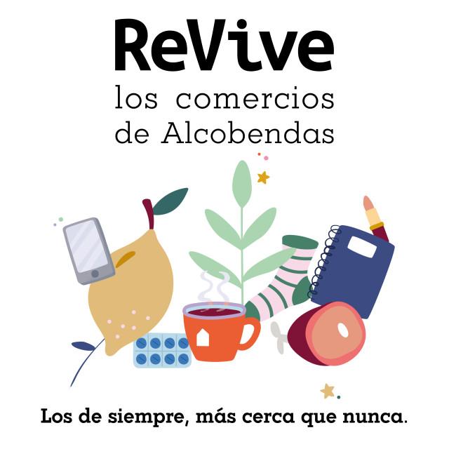 """Campaña de Comercio """"ReVive los comercios de Alcobendas"""""""