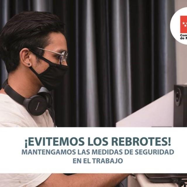 Coronavirus COVID-19 |Evitar rebrotes de coronavirus en el entorno laboral – Comunidad de Madrid