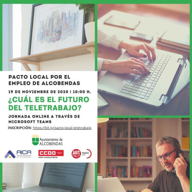 Jornada Pacto Local por el Empleo de Alcobendas: ¿Cuál es el futuro del teletrabajo?