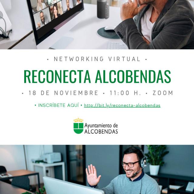 """Networking Ayuntamiento de Alcobendas """"Reconecta Alcobendas"""""""
