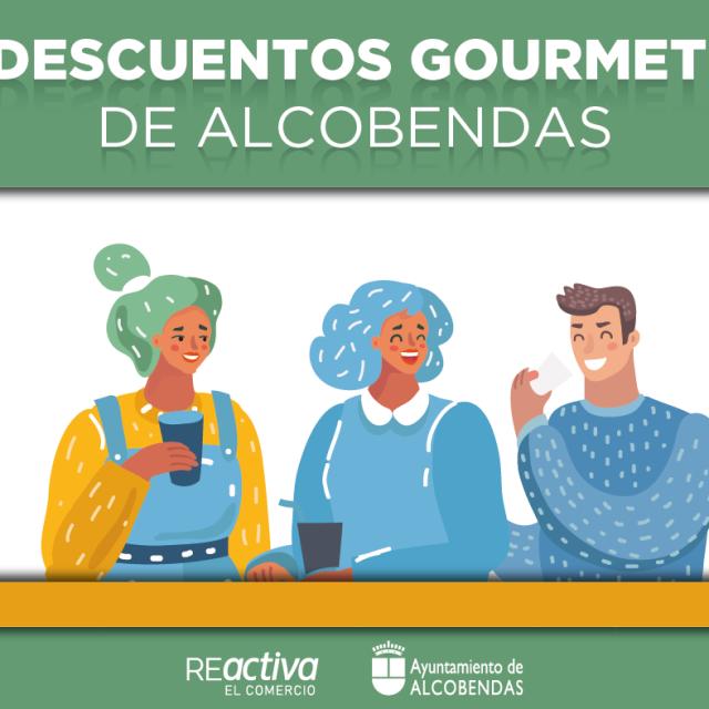 Campaña de hostelería Descuentos Gourmet Alcobendas: Bonos de 5 euros para gastar en 23 bares y restaurantes