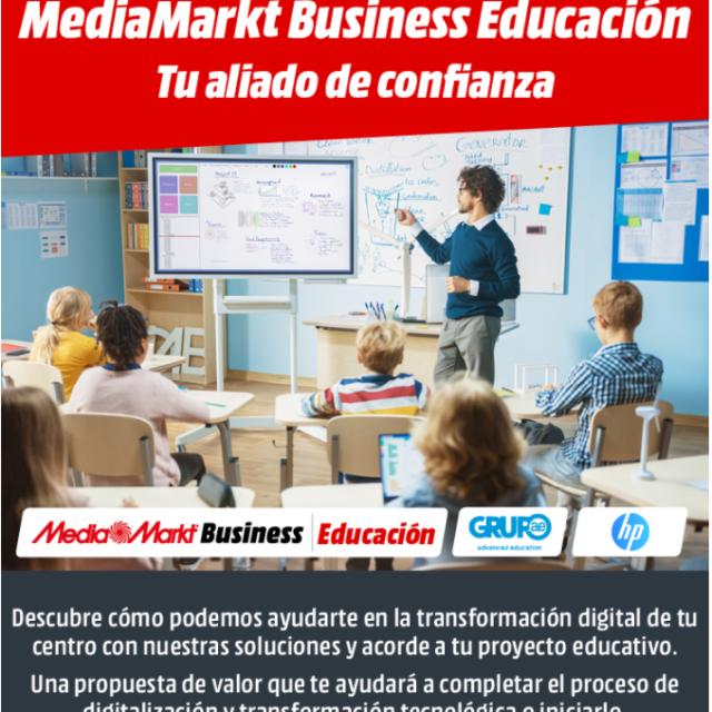 Media Markt Business Educación | Tu aliado de confianza. Webinar 24/2, 10/3, 24/3 y 14/4