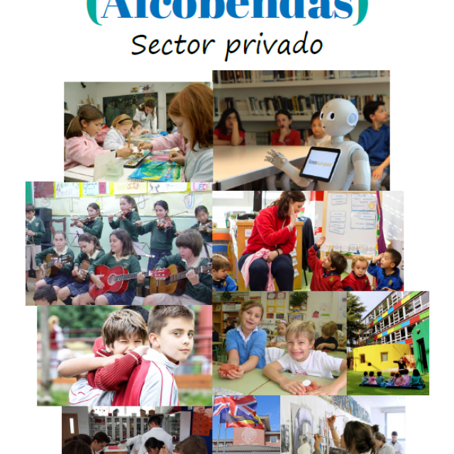 Oferta educativa. Sector privado Alcobendas 2021