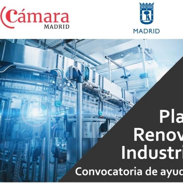 Jornada online | Plan Renove Industria. Convocatoria de ayudas