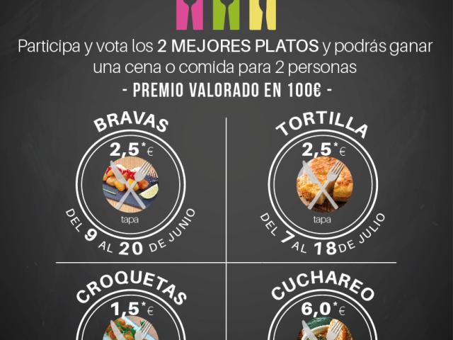 Campañas de Hostelería | Inscríbete hasta el 7 de junio en la Ruta de las Patatas Bravas de Alcobendas