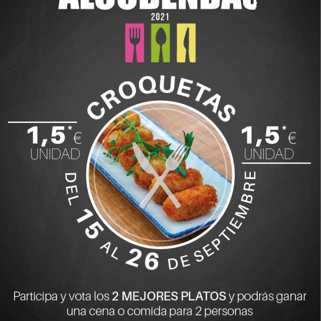 Rutas gastronómicas de Alcobendas | Ruta de la croqueta – 15-26/9